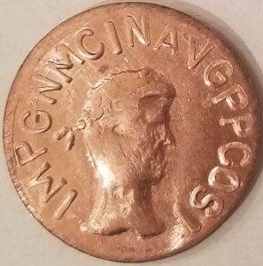 Gareth AE41 Coin Obverse